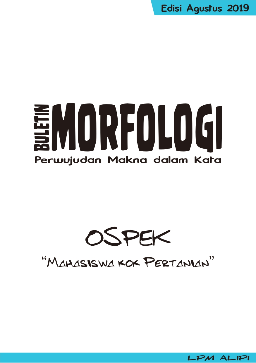 Buletin Morfologi Edisi Agustus 2019