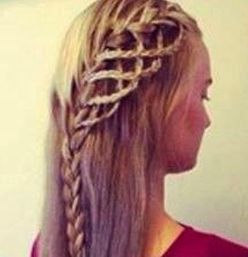 Peinados trenzas bonitas