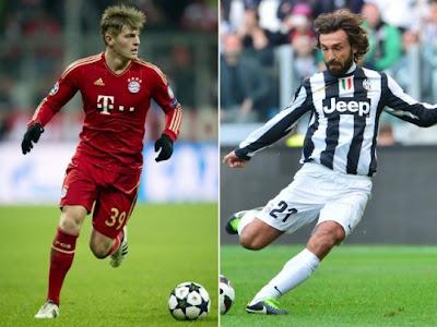 Juventus vs Bayern vivo