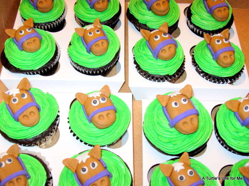 Horse Cupcakes A Turtles Life for Me