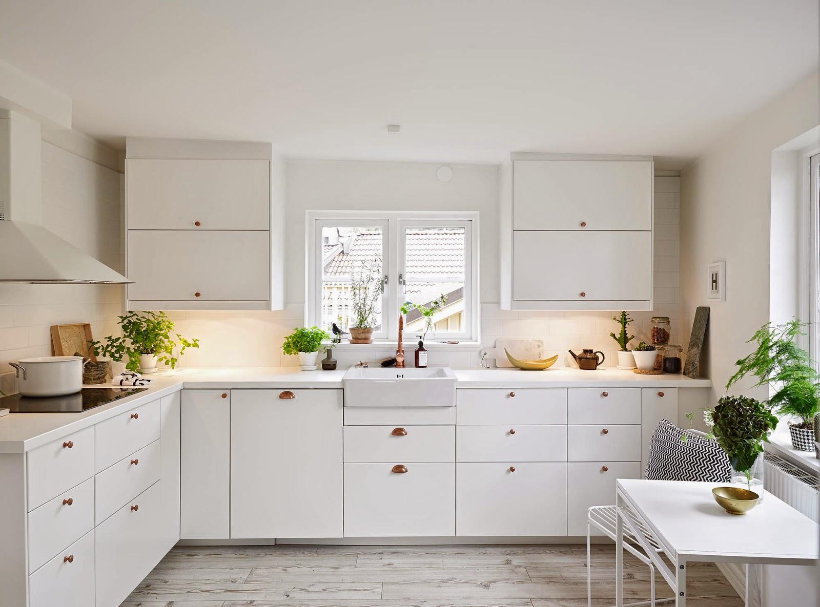my scandinavian home: a calm white swedish home
