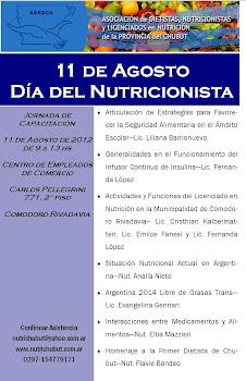 Día del Nutricionista 2012