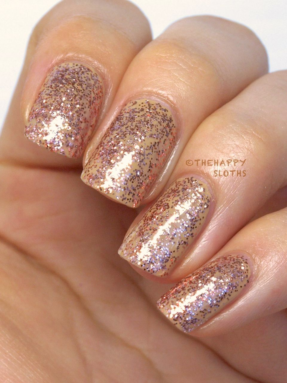 """Color Show Veils Nail Polish in """"Rose Mirage"""": Review and Swatches"""