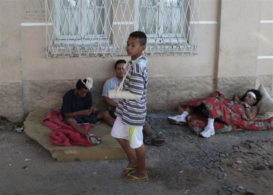 Niños de Brasil consumiendo crack