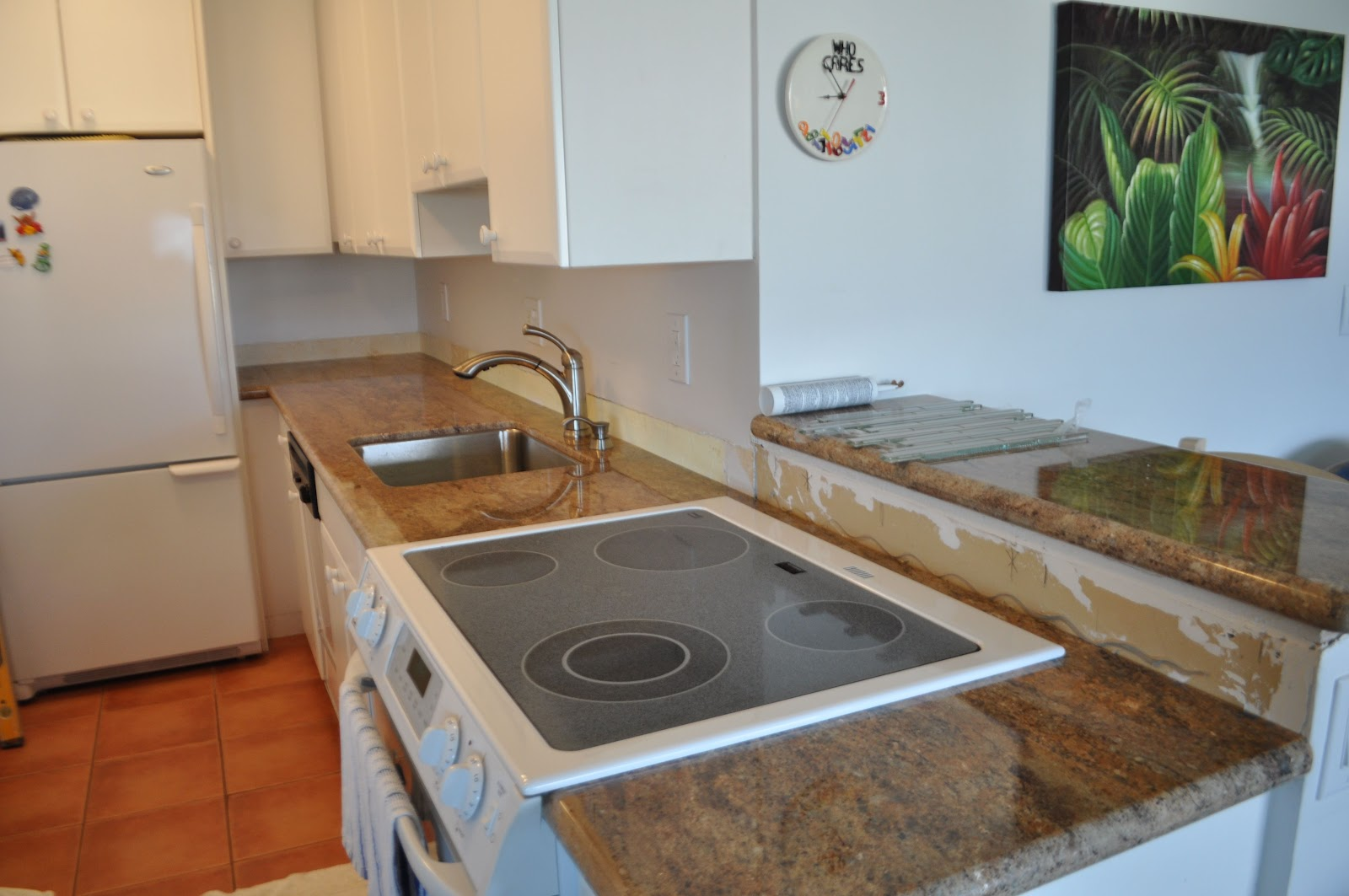 The charming How to install kitchen backsplash picture image