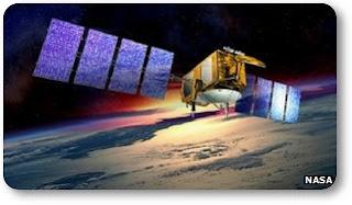 Satélites detectaron aumento del nivel del mar.  Naves+espaciales+estadounidenses+Grace