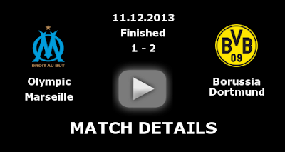 Highlights Champions League Marseille VS Borussia Dortmund