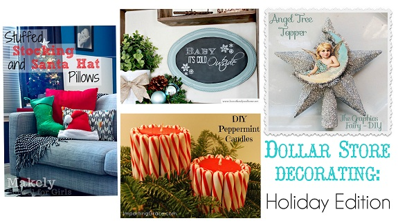 Dollar Store Decorating Week Recap Linky Party Love Of