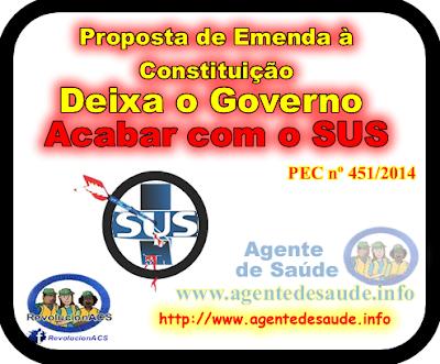 PEC%2Bacaba%2Bcom%2BSUS Proposta de Emenda à Constituição pretende deixar o governo abandonar o SUS