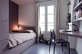 desain kamar tidur rumah minimalis   model rumah modern