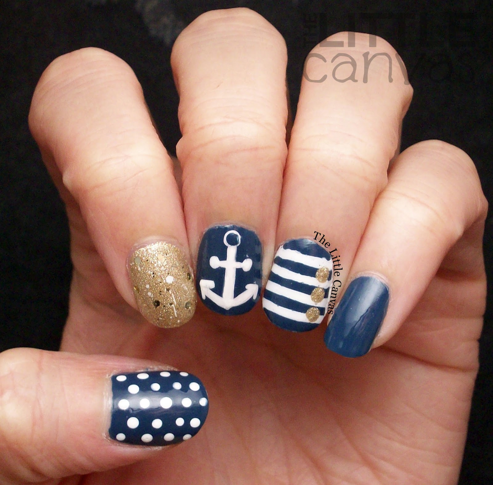 Twinsie Tuesday: Inspired by a Flag - Nautical - The Little Canvas