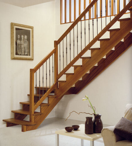 Escaleras para interiores ideas para decorar dise ar y for Escaleras para interior