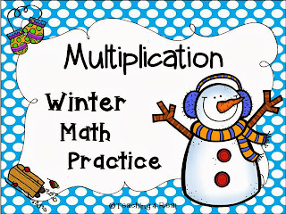 http://www.teacherspayteachers.com/Product/Winter-Multiplication-Math-Practice-979591