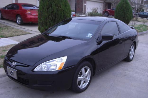 Honda Accord Coupe 2003 Black