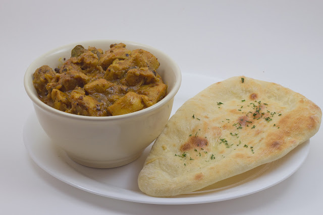 chicken korma and naan chicken curry also referred to as chicken korma ...