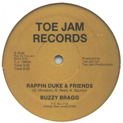 Buzzy Bragg‎– Rappin Duke & Friends (1986, 128)