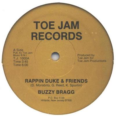 Buzzy Bragg– Rappin Duke & Friends (1986, 128)