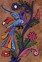 Amate arte mexicano. Existe una gran similitud entre el amate, el papel de los mayas y aztecas y el papiro egipcio