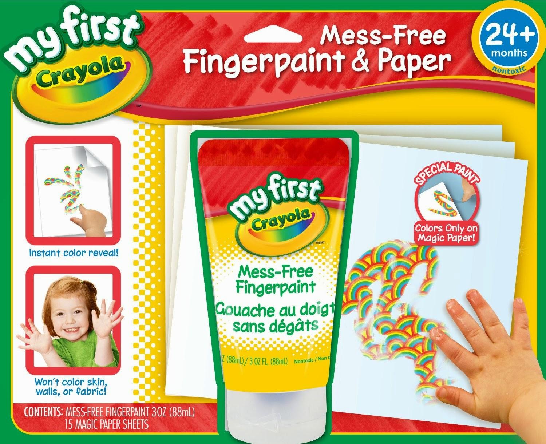 Crayola Finger Paint
