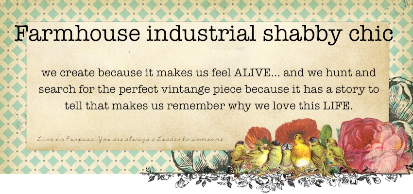 Farmhouse Industrial Shabby Chic
