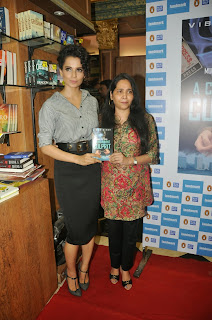Acress Kangana Ranaut Pictures at Vibha Singh 'A Convenient Culprit' Book Launch 0013