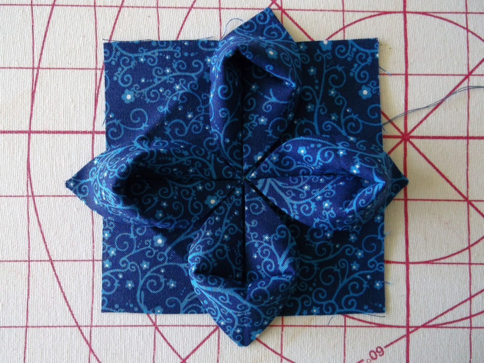 Asg in the slc embellish with origami fabric flowers tutorial mightylinksfo