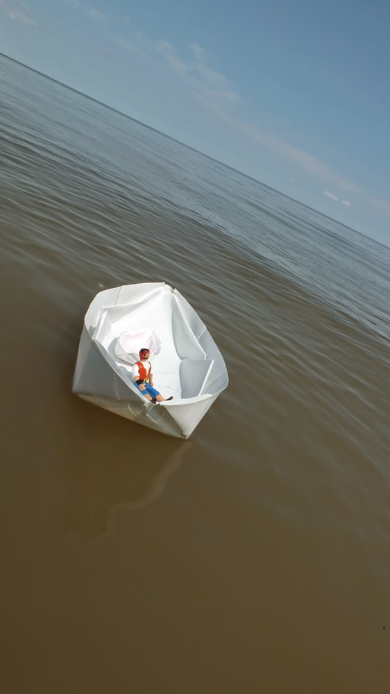 boat origami,TerraSkin, paper boats that float, origami, rock paper, stone paper, paper boats, DIY paper crafts