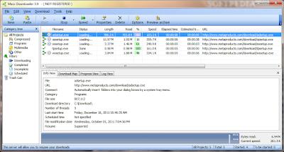 اسرع برنامج لتحميل الملفات 2015 Mass Downloader 3.9.854