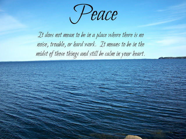 peace calm heart