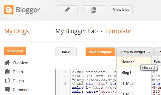 Làm Thế Nào Để Khóa Hoặc Mở Khóa Widgets Trong Blogger