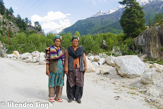 Kinnaur district of Himachal Pradesh is one of the most beautiful places and a great place to explore natural beauty with amazing culture. Jitendra is sharing a Photo Journey from Kinnaur this time. Check out this awesome series of Photographs from different parts of Kinnaur region in Himalayan State of India.Whenever we visualize Kinnaur, the very first thing comes into mind is route beyond Shimla which takes us to Kinnaur region. Kinnaur is connected through roads at very high altitude with deep valleys on one side and rocky mountains on other side. One of the most adventurous road trips in India are planned to Kaza throug various parts of Kinnaur like Kalpa, Rekong Peo, Sangla, Chango, Chitkul, Kothi, leo, lippa, Murang, Naco, Pooh, Rakcham, Ribba etc. Most of the Kinnaru region has beautifuk architecture, where we see amazing wooden houses which lasts for hundreds of year and a very good option for these folks who have to spend most of the year in snow or chilly weather. Kinnaur is one of the districts among 12 districts in Indian state of Himachal Pradesh. Kinnaur district is split into 3 body areas – Pooh, Kalpa, and Nichar. The executive headquarter of Kinnaur district is at ReckongPeo. Kinnaur, enclosed by the Tibet to the east, is within the northeast corner of Himachal Pradesh, regarding 235 kilometer from the capital, Shimla. Sangla Valley is full of orchards of apricots, peaches, chilgozas and apples.Most of the folks in Kinnaur are dependent on the fruit exports. very fine quality of Apple is produced in Kinnaur region of the country.Most of Kinnaur enjoys cold weather due to its high elevation, with long winters from October to May and short summers from June to September. The lower parts of the Sutlej Valley and the Baspa Valley receive monsoon rains. The upper areas of the valleys fall mainly in the rain-shadow area. These areas are considered to be arid regions, similar to the climate of Tibet. Jitendra has spend good time in villages of Kinnaur to understand real culture of the region and how these people live their life. And in states like Himachal, villages are best way to know about a particular geography. This holds good for India as well. India remain unexplored unless you visit villages in different regions like Himachal, Rajasthan, Maharashtra, kerala, North East etc.Zanskar which is a range of mountains and Dhauldhar is another one which enclose valleys of Sutlej, Spiti, Baspa and their tributaries. Kinnaur has beautiful landscape with apple orchards, forests, high hills with snow covered peaks and colorful houses. Spiritual Shivling lies at the height of Kinnar-Kailash Mountain. Hindustan-Tibet Road passes through the Kinnaur region on the bank of stream Sutlej and eventually enters Tibet at Shipki La passThese colorful landscapes with beautiful valleys and high mountains make Kinnaur a best place to spend summers. Climate is quite welcoming in summer, although seeing this place under white sheet of now during winters is altogether a different experience. Connectivity becomes of the issue during winters but it's worth planning fo it.Best way to explore Kinnaur is through own vehicle or hired vehicle, which gives you freedom of stopping anywhere anytime. but in that case, one needs to have control on stoppages as there are many beautiful landscapes on the way which my compell you to stop again n again and you may get late for better landscapes beyond the connectiing road. Road from Shimla to Kinnaur is quite adventurous. Usually tourists come to Shimla via Volvo or Train and then hire a local cab for further explorations.The present day Kinnauras do not constitute a homogeneous group and display significant territorial and ethnic diversity. For a better understanding of ethnic and cultural distribution, Kinnaur district may be classified into three territorial units. Lower Kinnaur comprise area between Chora at the boundary of the Kinnaur district with Rampur Bushahr and Kalpa including Nichar and Sangla valleys. The people of Lower Kinnaur are primarily of the Mediterranean physical type. It is difficult to distinguish them from the people residing in the adjoining Shimla district with whom they have some affinity. The people of lower Kinnaur are mostly Hindus though the ethno-historical factors have resulted in some Buddhist influence.The middle Kinnaur is the area between Kalpa and Kanam including Moorang tehsil. The people of middle Kinnaur are of mixed racial strain. Some have marked Mongoloid and others marked Mediterranean features. Many people have faith in both the religions.The upper Kinnaur comprises remaining north-eastern part of the district i.e. the area between Poo and Hangrang valley extending up to international border with Tibet. The predominant physical type of upper Kinnaur in the Mongoloid though a few persons with Mediterranean features are also seen in the area around Poo. However the people of Hangrang valley are almost universally Mongoloids. They mostly follow Mahayana Buddhist religionKinnaur has some very important rivers - the Satluj, which divides Kinnaur almost in two equal parts. The Spiti is the second major river of the district. Ropa divides the district Kinnaur and Lahaul-Spiti and merges with Satluj near Shiasu. The Baspa river rises on the North-Eastern declivity of the Dhauladhar range. The Yolong also joins the Spiti river.
