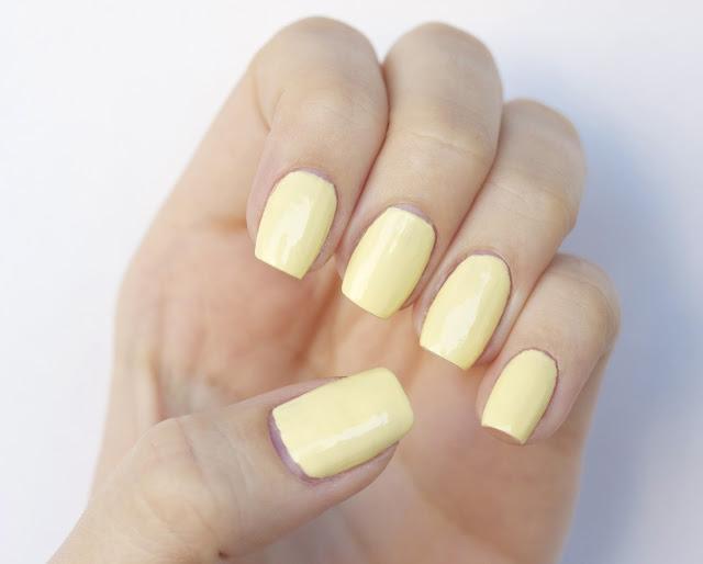 Models Own Lemon Meringue nail polish
