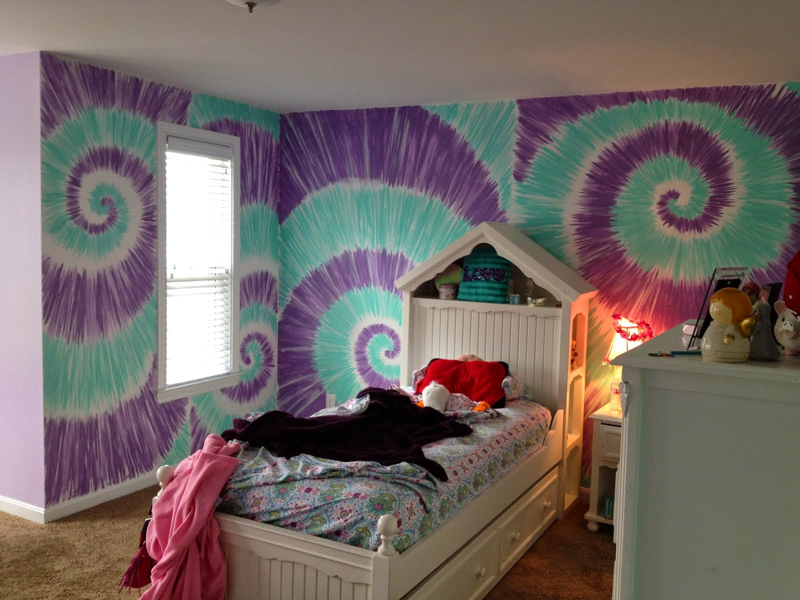 Lauren's Tied Dyed Room