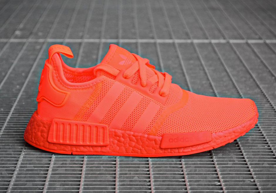 All Red adidas NMD R1 Europe Exclusive
