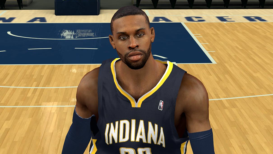 NBA 2K14 CJ Watson Cyberface Patch