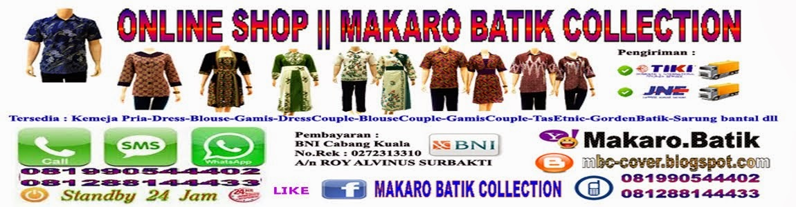MAKARO BATIK COLLECTION || Batik Solo modern dan Murah