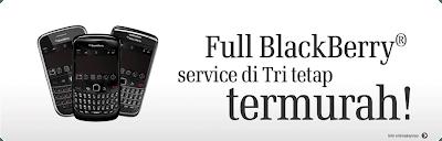 Paket Blackberry Termurah Tri 2014