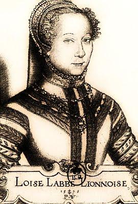 Louise Labé (Pierre Woeiriot de Bouzey)