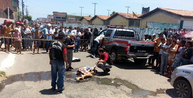 [VÍDEO] Carroceiro é executado a tiros no conjunto João Alves em Socorro