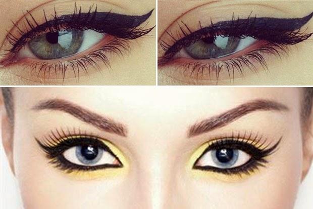10 bellesalud delineado cat eye v deo paso a paso - Maneras de pintar los ojos ...