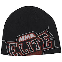 MMA Elite Men's Slide Beanie - Black - One size