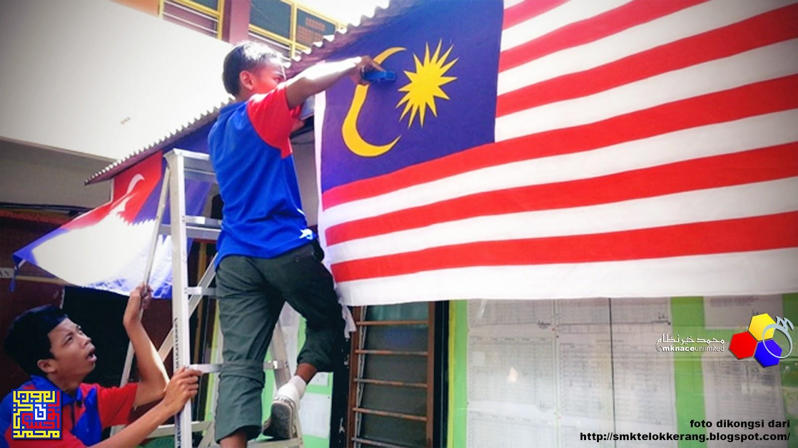 Protokol Pengibaran Bendera sempena Hari Kemerdekaan di negeri Johor