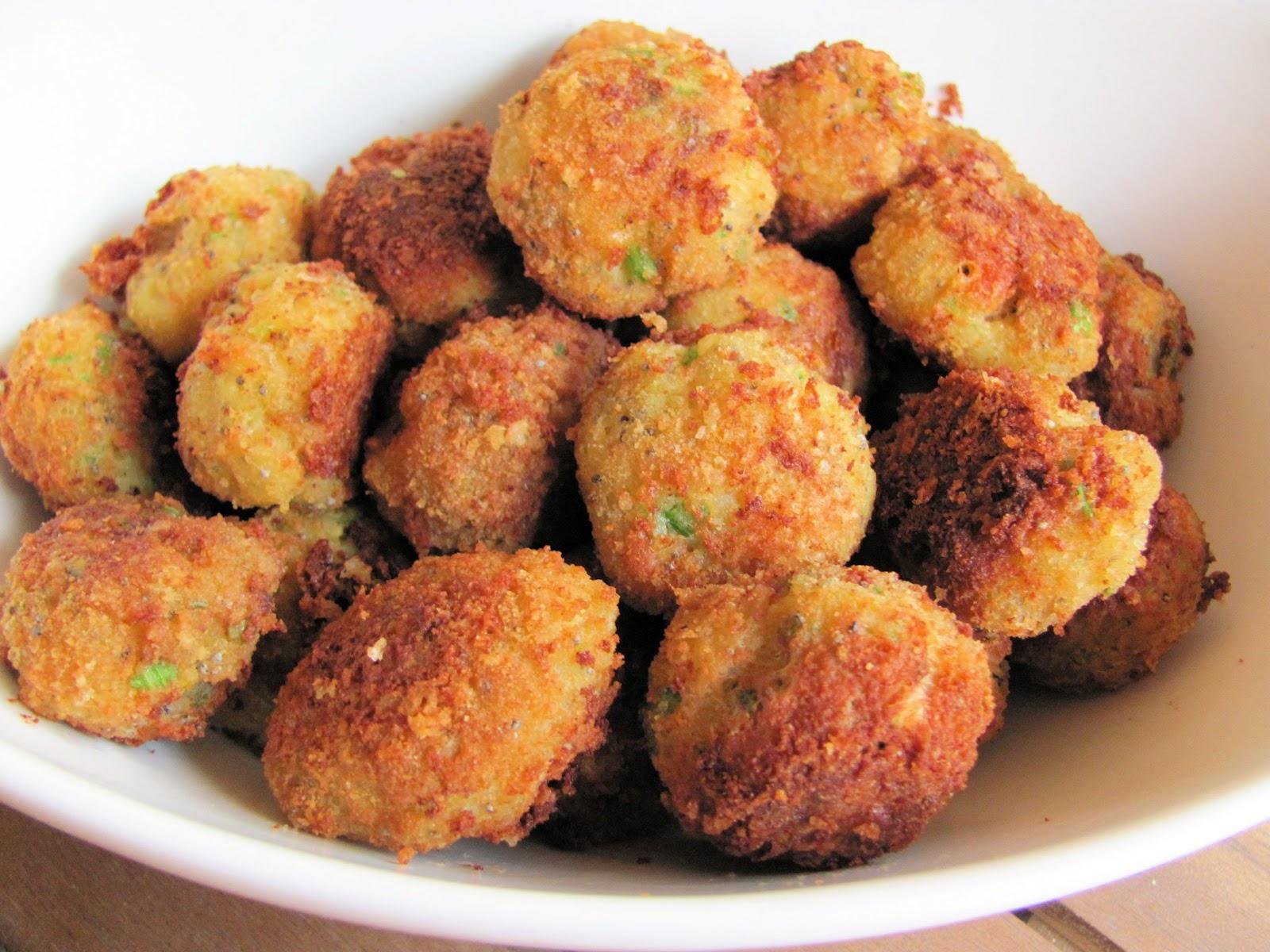 la cucina di pucci: polpettine di gamberi e sedano - Cucinare Qualcosa Di Veloce