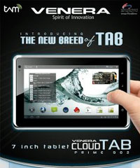 Harga Venera Cloud Tab Spesifikasi Terbaru