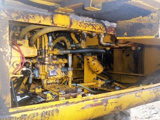 hydraulics Case Poclain 60PB excavator