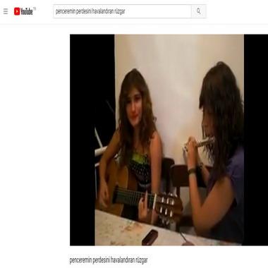 youtube com - penceremin perdesini havalandıran rüzgar