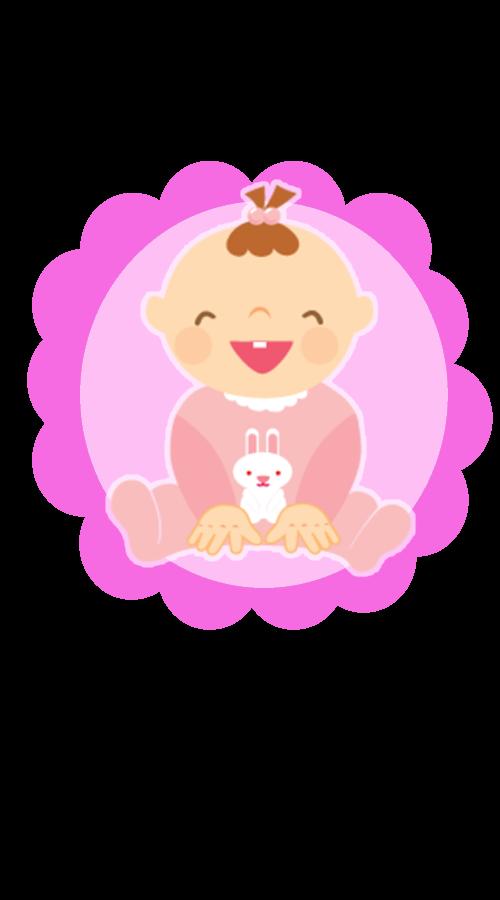 Toppers para cupcake Chá de Bebê Menina e Menino