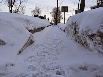 Winter Lingers as Folks Lose Interest in Moving Snow