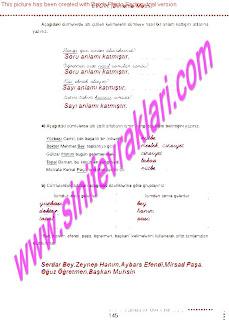 6.Sinif  Turkce Doku Yayinlari Ogrenci Calisma Kitabi Sayfa 145