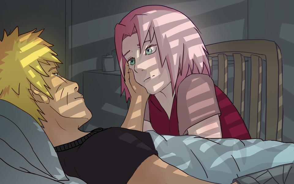 GallianMachi: Naruto: NaruSaku vs Naruhina Battle Walls - Created by ...